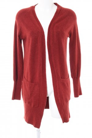 Jacqueline de Yong Knitted Coat red casual look