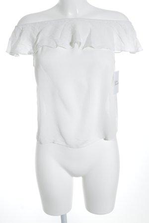 Jacqueline de Yong Casacca bianco stile semplice