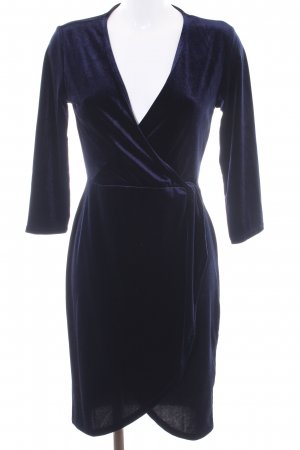 Jacqueline de Yong Wickelkleid dunkelblau Elegant