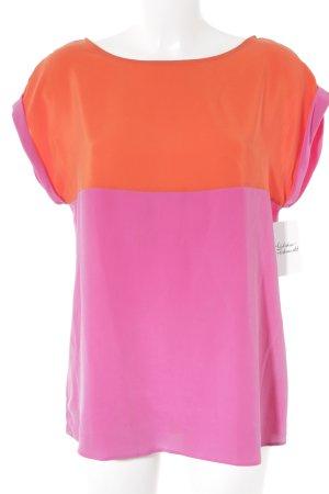 Jacques britt Shirttunika rot-pink Colourblocking Elegant