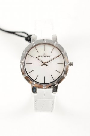 Jacques Lemans Analog Watch white business style