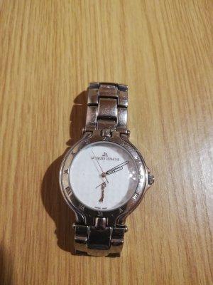 Jacques Lemans Damen Uhr, 677, Armbanduhr, Golfuhr, silber, Metallband;