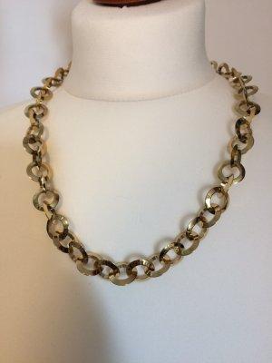 Jacques Lemans Halskette aus Edelstahl vergoldet super schön und ungetragen!