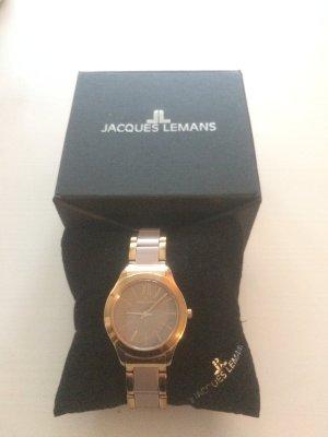 Jacques Lemans roségold farbene Armbanduhr mit OVP