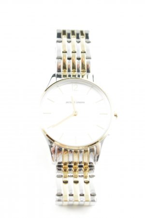 Jacques Lemans Watch With Metal Strap silver-colored-gold-colored elegant