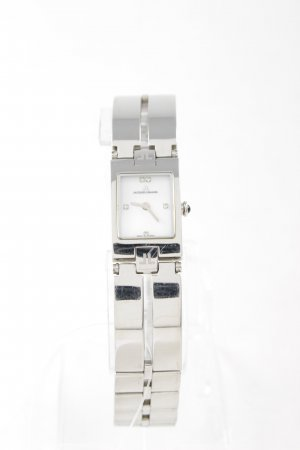 Jacques Lemans Watch With Metal Strap white-silver-colored business style