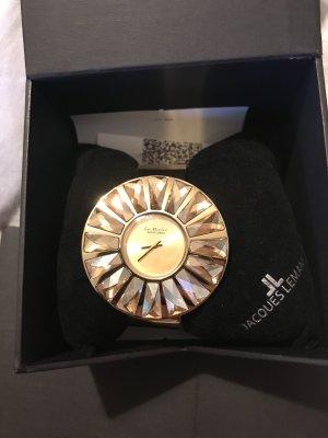 Jacques Lemans Uhr mit Swarovski Steinen