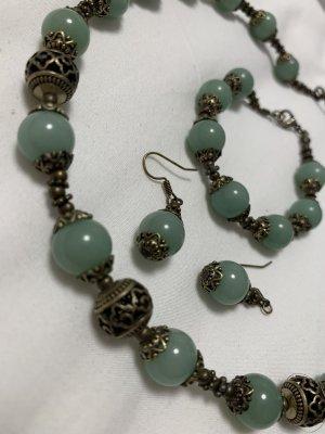 Collier bronzo-verde chiaro