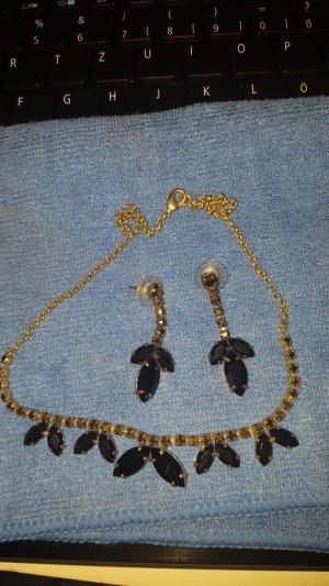 Collana nero-bronzo