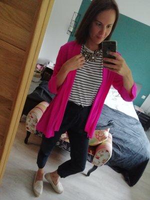 Jadicted Sakko Blazer Kimono Seide Neonpink Pink Neon L