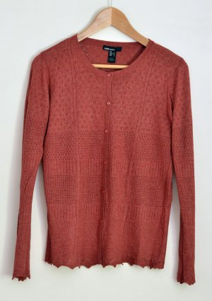 Mango Basics Cardigan russet-cognac-coloured mixture fibre