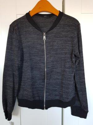 Colloseum Blusón negro-gris oscuro