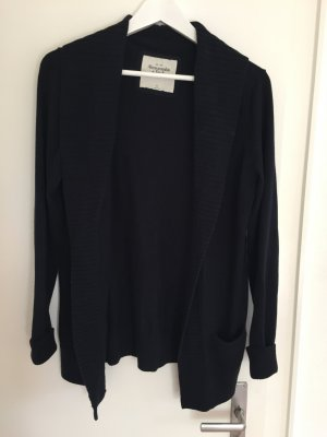 Jäckchen Cardigan Abercrombie and Fitch, Gr. M blau