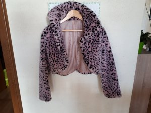 Robe manteau rose