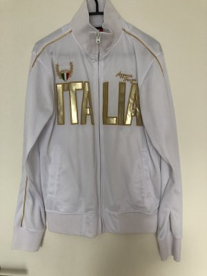 Shirt Jacket white-gold-colored