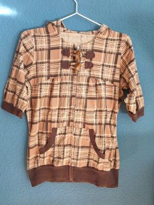 Camicia con cappuccio multicolore