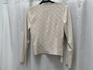 Only Leather Vest cream