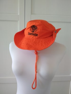 Sun Hat orange-neon orange cotton