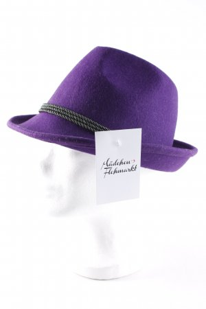 Hunting Hat lilac-forest green retro look