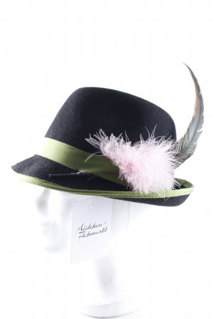 Hunting Hat multicolored retro look