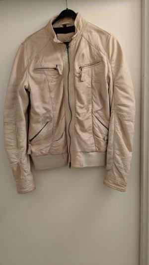 Jagger & evans Leather Jacket cream