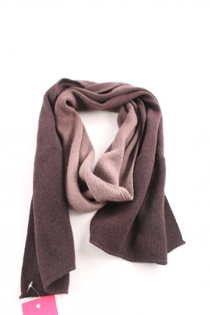 Jago Knitted Scarf brown-cream color gradient casual look