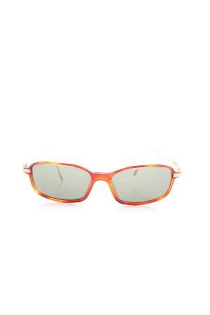 Jaguar Angular Shaped Sunglasses light orange-bronze-colored color gradient