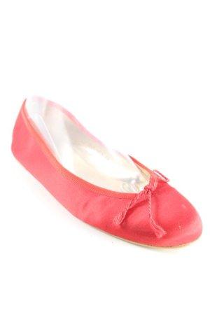 Jaime Mascaro Ballerina pieghevole rosso mattone stile casual