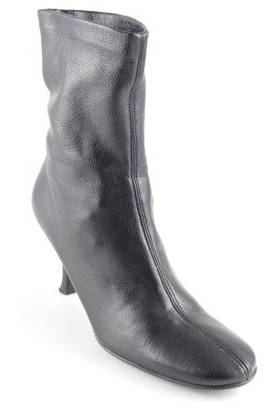 Jaime Mascaro Schlüpf-Stiefeletten schwarz Elegant