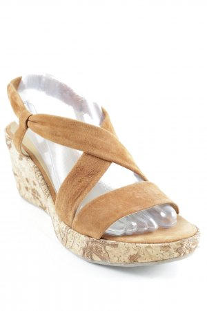 Jaime Mascaro Wedges Sandaletten cognac Casual-Look