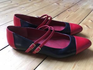 Jaimie Jacobs Balerinas schwarz/rot