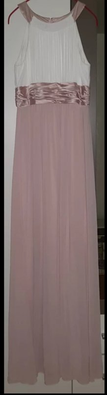 Jake's Abendkleid aus Chiffon - Rosé - 38