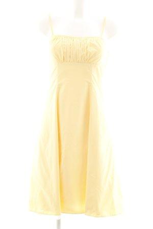 Jake*s Abendkleid blassgelb Elegant