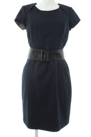Jake*s Abendkleid dunkelblau-schwarz Nadelstreifen Elegant