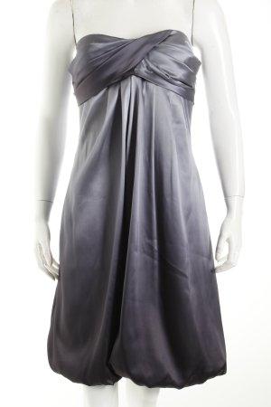 Jake*s Abendkleid grau-dunkelgrau Eleganz-Look