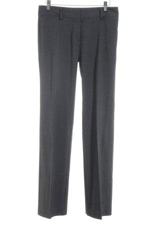 Jake*s Pantalone da abito grigio puntinato stile professionale