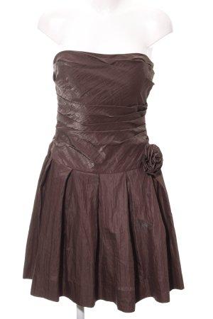 Jake*s Balloon Dress brown elegant