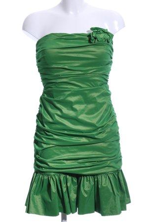 Jake*s Vestido bandeau verde elegante