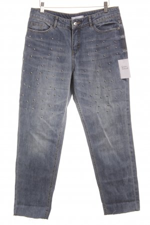 Jake*s Boyfriendjeans blau Casual-Look