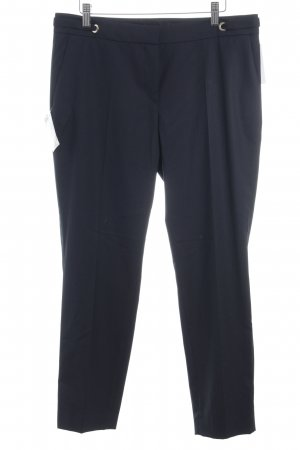 Jake*s Bundfaltenhose dunkelblau Business-Look