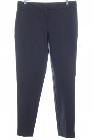 Jake*s Pleated Trousers dark blue business style