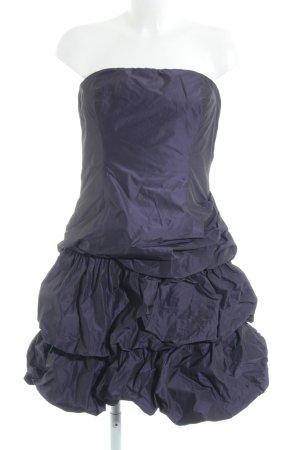 Jake*s Vestido bustier violeta azulado elegante