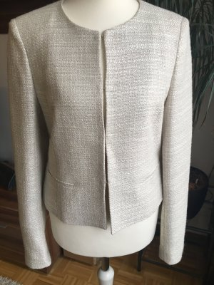 Jake*s Collection Blazer aus Bouclé - Beige