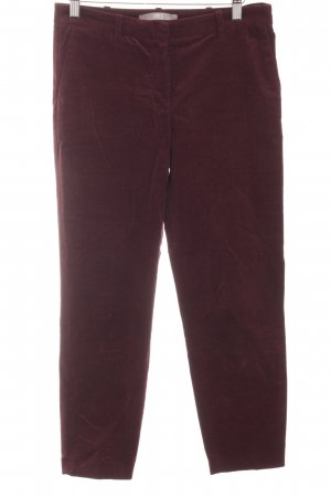 Jake*s Cordhose purpur Casual-Look