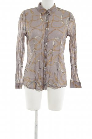Jake*s Hemd-Bluse abstraktes Muster Business-Look