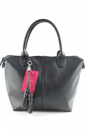 Jake*s Bolso barrel negro look casual