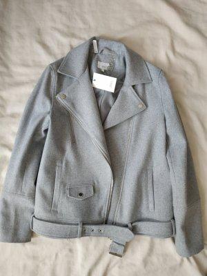 Jake*s Chaqueta de lana gris claro