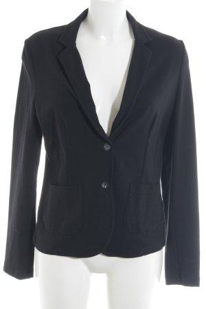 Jake*s Jersey Blazer negro elegante