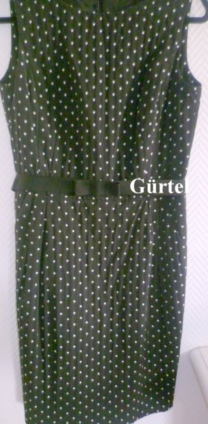 Jake*s A-lijn jurk zwart-wit