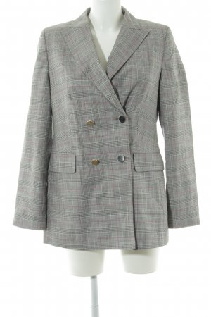 Jake*s Long-Blazer Karomuster Business-Look